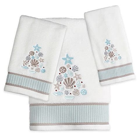 christmas towels bathroom coastal christmas bath towel bed bath beyond