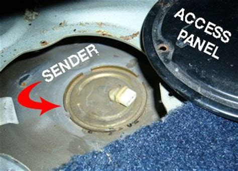 how to replace a car's fuel sender
