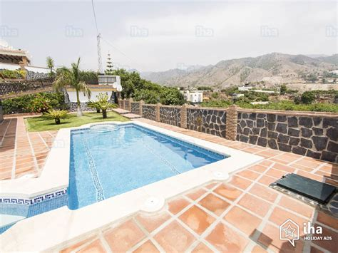 nerja appartments villa for rent in a property in nerja iha 56460