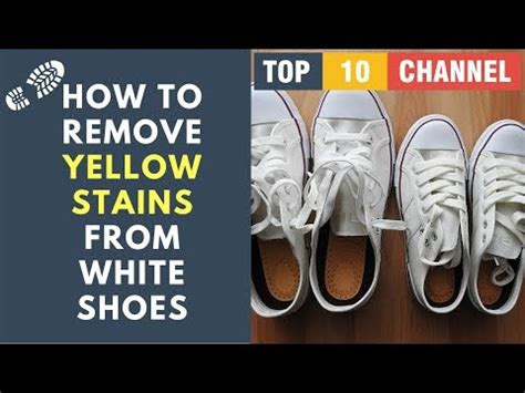 how to remove stains from white shoes how to clean midsoles fix nike pre yellowing funnycat tv