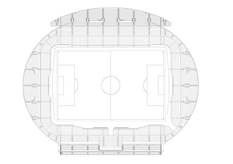 stadium floor plans gallery of hazza bin zayed stadium pattern design 12