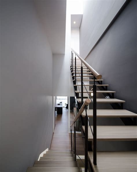 Townhouse Stairs Design Modern Townhome In Bangkok S Fashion District
