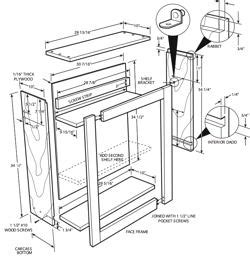 pdf diy plans for kitchen cabinets free plans for