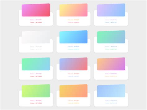 design inspiration gradient free gradients sketch file with color code by ajinkya