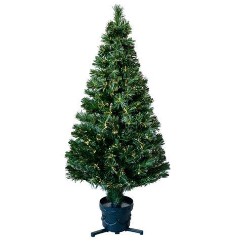 4ft 120cm beautiful green open burst fibre optic christmas