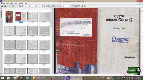 buku format djvu cara membuka file djvu lit prc cbr cbz pdb dnl