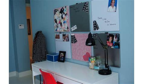 bulletin boards  desk area  girls teen bedroom teen