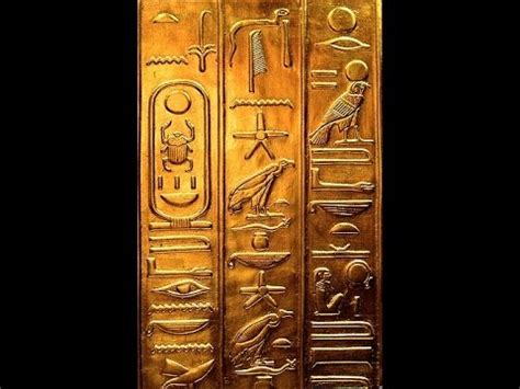 Secrets of the Egyptian Hieroglyphics - YouTube W 9 Updated 2016
