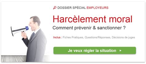 Modèle De Lettre Pour Harcèlement Au Travail