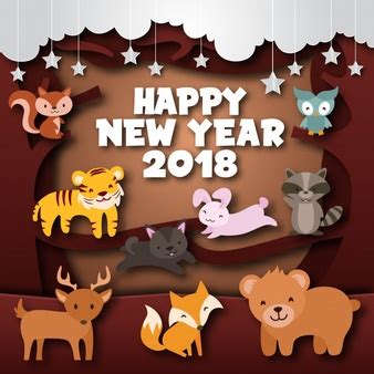 new year 2018 for tigers tiger vectors photos and psd files free