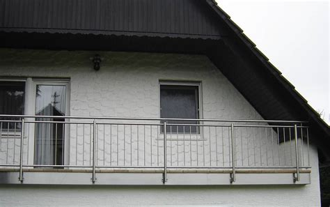 balkon edelstahlgeländer edelstahlgel 228 nder lochblech altenglan kusel
