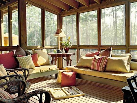 Home Design Furniture Sun Porch Design With Glass Window Screen Porch Furniture Ideas