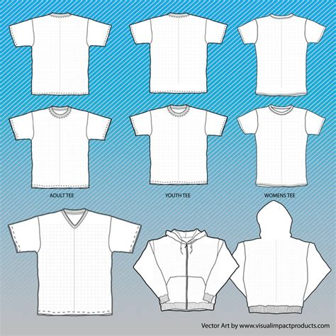 t shirts mock up templates with grid vector free download