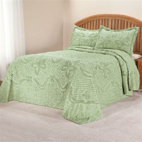 chenille bedding the caroline chenille bedding sets chenille bedding