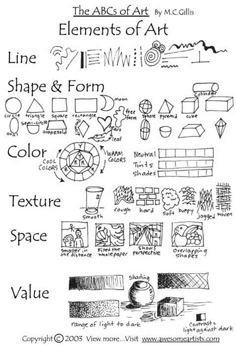 layout definition in spanish great printable of the basic elements of art in very