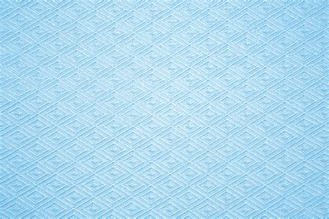 Baby Blue Knit Fabric With Pattern Texture Picture