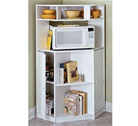 Corner Microwave Shelf by Corner Microwave Stand Pine Kitchen