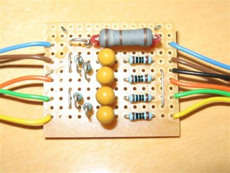 projects with resistors and capacitors how to calculate resistor ceramic capacitor value