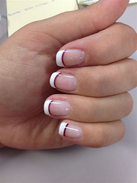 color tips wedding nails tip with a line of purple whatever