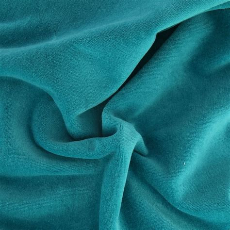 peacock blue velvet upholstery fabric velvet fabric peacock blue x10cm perles co