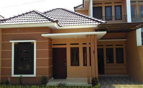 kombinasi warna warna cat rumah  bagian luar
