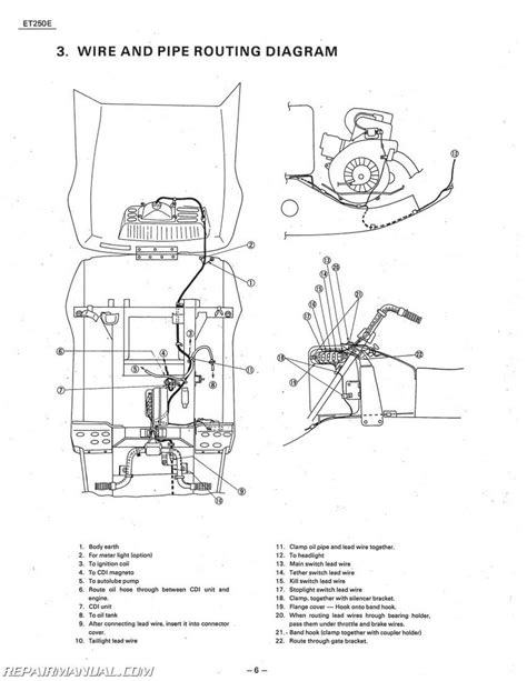 1978 1981 Yamaha Enticer Et250 Snowmobile Service Manual