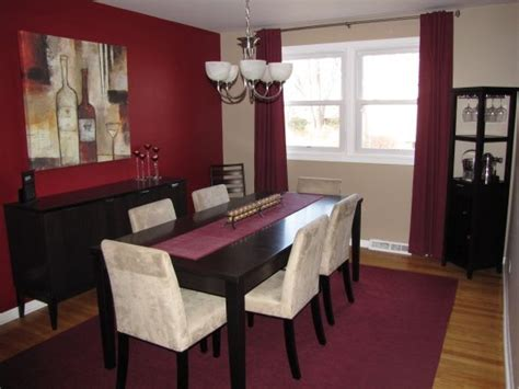 burgundy dining room 25 best burgundy walls ideas on burgundy painted walls walls and interiors