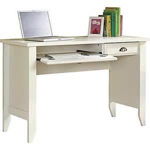 Sauder Computer Desk Staples Sauder Shoal Creek Computer Desk Soft White Staples 174