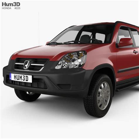Honda Cr V 2 2003 honda cr v ex 2003 3d model hum3d