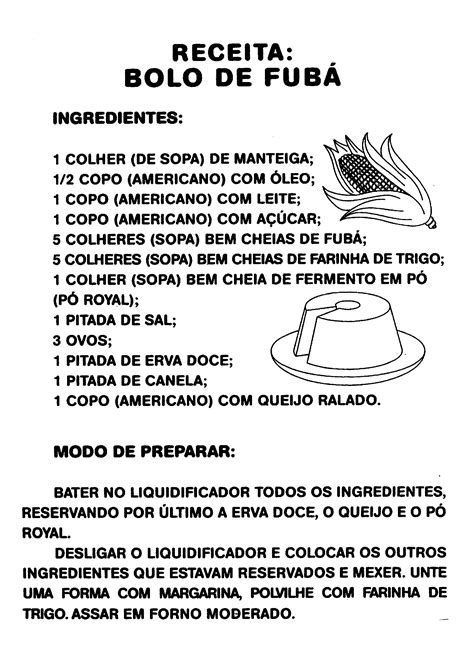 Receitas simples e gostosas para as aulas de culinária