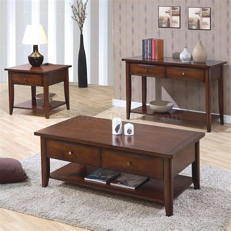 coffee table with storage drawers in walnut finish walnut finish modern coffee table w shelf drawers options