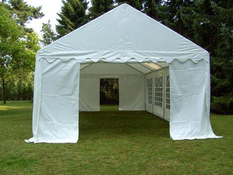 pavillon 3x6 3x6 4x8m partyzelt gartenzelt pavillon zelt wei 223 pvc