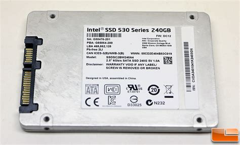 Hardisk Ssd Intel intel nuc kit d54250wykh review finally a 2 5 inch drive