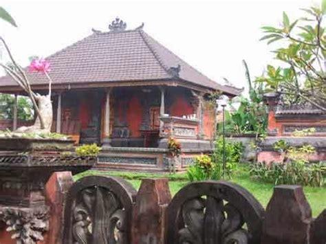 layout rumah tradisional bali uniknya rumah adat bali blog interior rumah minimalis