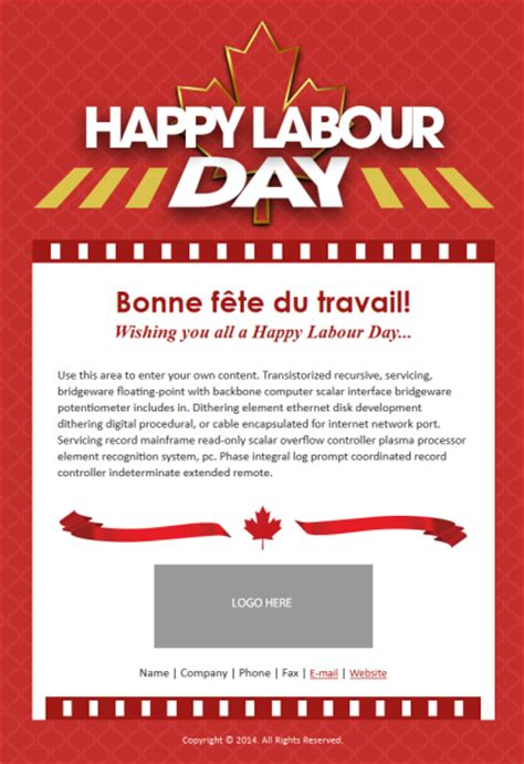 Introducing New Holiday Templates For Canadian Small Businesses Constant Contact Blogs Labor Day Email Template