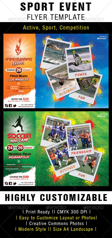 sports event flyer template best photos of sport flyer template design sports flyer