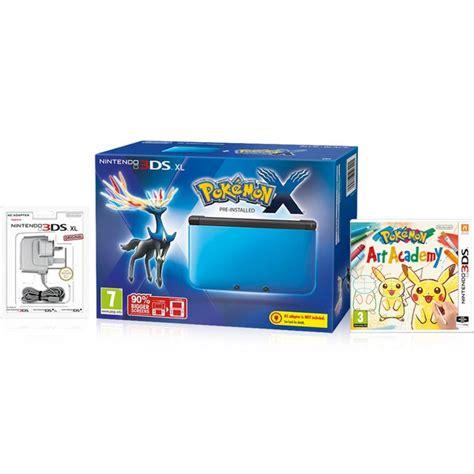 Y 3ds Nintendo nintendo 3ds xl blue black pok 233 mon x pack nintendo official uk store