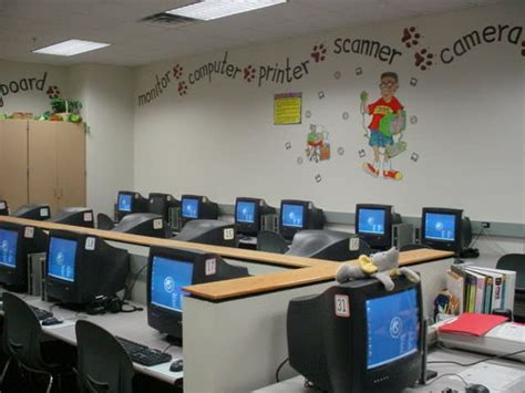 Computer Lab Decorations by 93 Best Computer Lab Bulletin Boards Images On