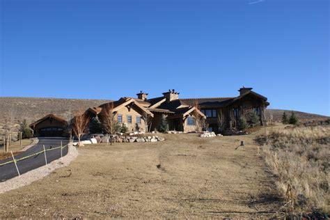 artisans custom home design utah promontory i park city utah 2008 rustic exterior
