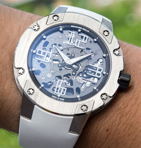 Richard Mille Gold richard mille rm033 in white gold review ablogtowatch