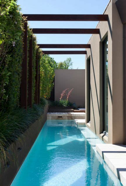 very small pools 30 awesome narrow pools for the tightest spaces digsdigs