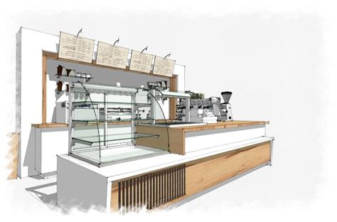 Gallery Kitchen Ideas by Coffee Shop Interior Drawing Enchanting Ideas Landscape Is