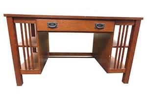 oak mission desk bassett mission oak desk