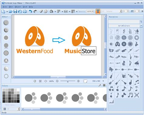edit logo text how to create a company logo with easy steps