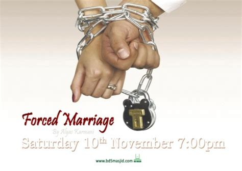 forced marriage calendar event forced marriage masjid ahle hadith bd5
