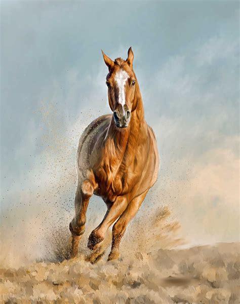 painting horses paintings a painted pet custom pet paintings