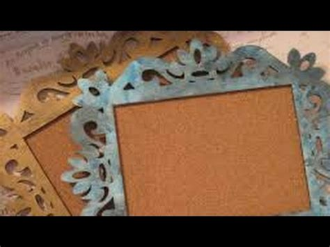 Handmade Cardboard Photo Frames - diy handmade vintage photo frame recycled cardboard