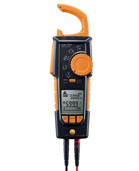 testo in testo 770 3 hook cl meter resistance electrical