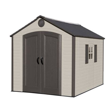 8 X 10 Shed Kit by Lifetime 8x10 Ft Outdoor Storage Shed Kit 60056