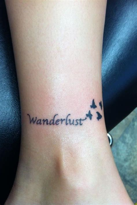 wanderlust tattoo designs wanderlust in tattoos